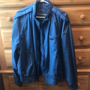 BLUE MEMBERS ONLY JACKET. GREAT CONDITION